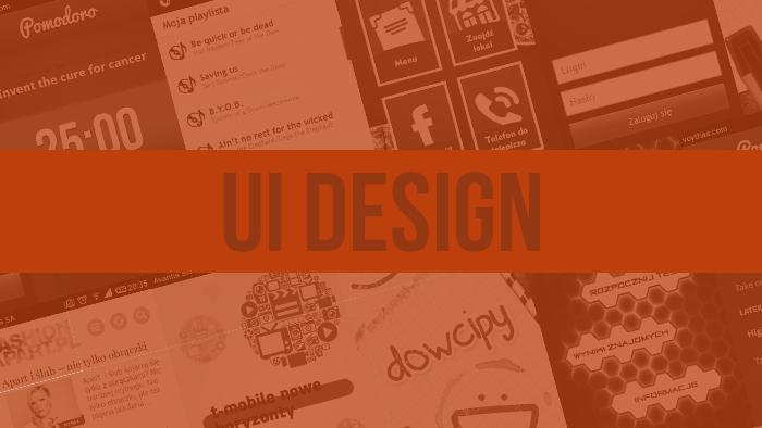 Projekty UI