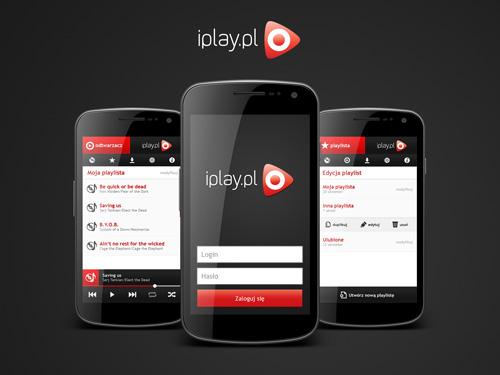 Projekt aplikacji mobilnej iplay