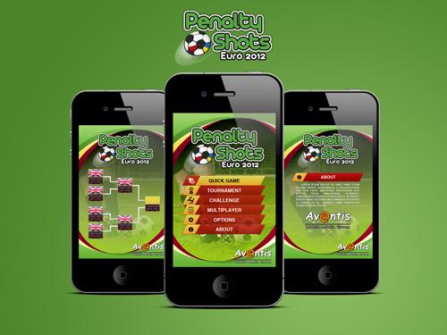 Projekt gry mobilnej Penalty Shots