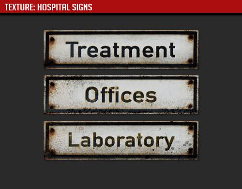 Szpitalne oznakowanie