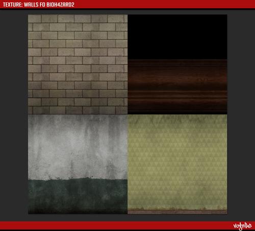 Bio4zard2 tekstury murów